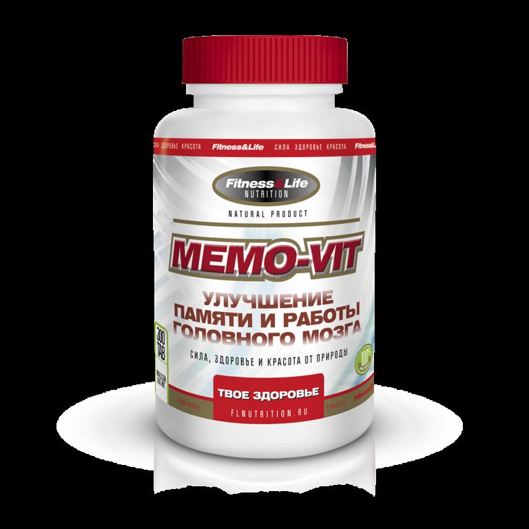 препараты для сосудов головного мозга Memo-Vit (Мемо-Вит)
